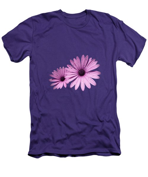 Dew Drops On Daisies Men's T-Shirt (Athletic Fit)
