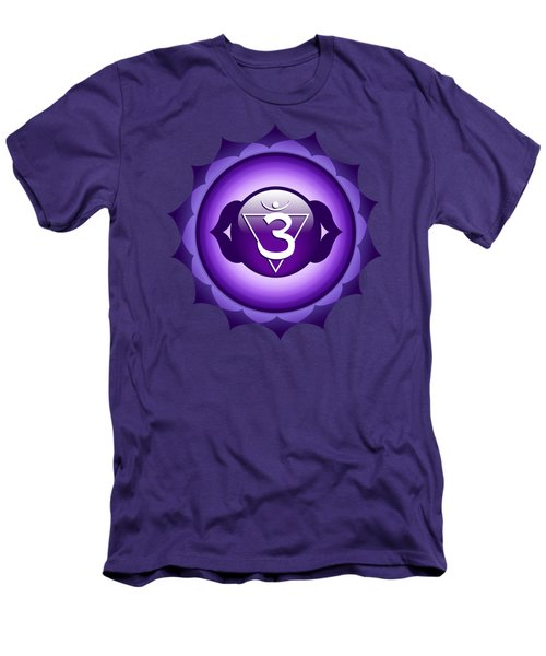 Third Eye Chakra - Anja Men's T-Shirt (Athletic Fit)
