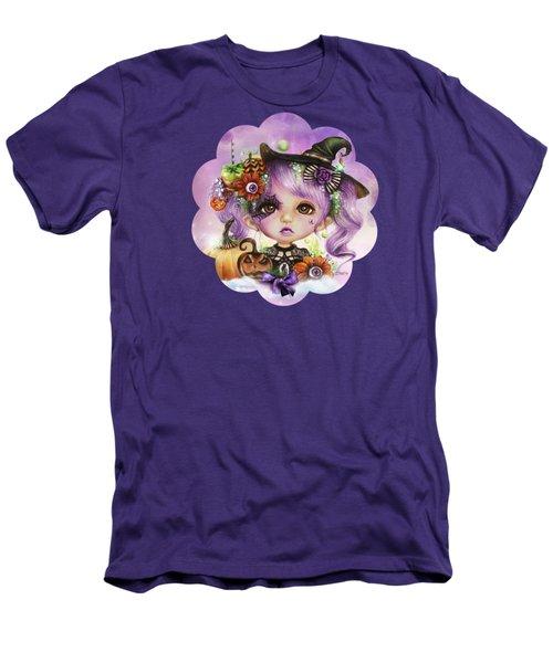 Halloween Hannah - Munchkinz Character  Men's T-Shirt (Slim Fit) by Sheena Pike