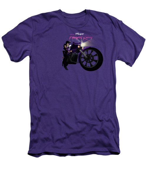 I Grew Up With Purplerain Men's T-Shirt (Slim Fit) by Nelson dedos Garcia