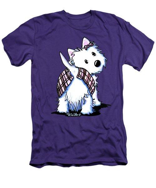 Dressed To Kilt Westie Men's T-Shirt (Athletic Fit)