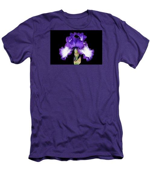 Autumn Circus Iris Men's T-Shirt (Athletic Fit)