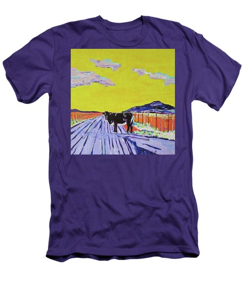 Backroads Abiquiu, New Mexico Men's T-Shirt (Athletic Fit)