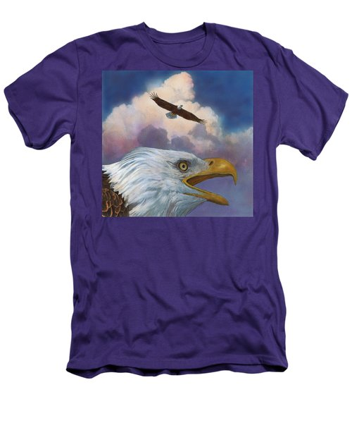 Bald Eagles Men's T-Shirt (Athletic Fit)