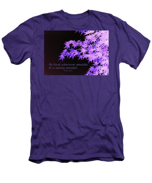 Be Kind Men's T-Shirt (Slim Fit)
