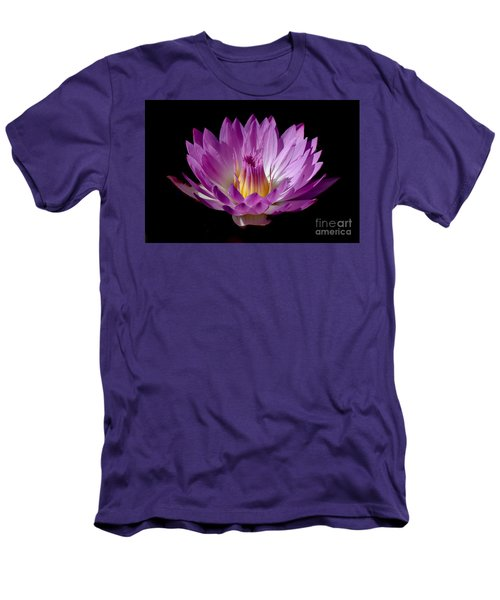 Beautiful Pink Pearl Lily Men's T-Shirt (Athletic Fit)