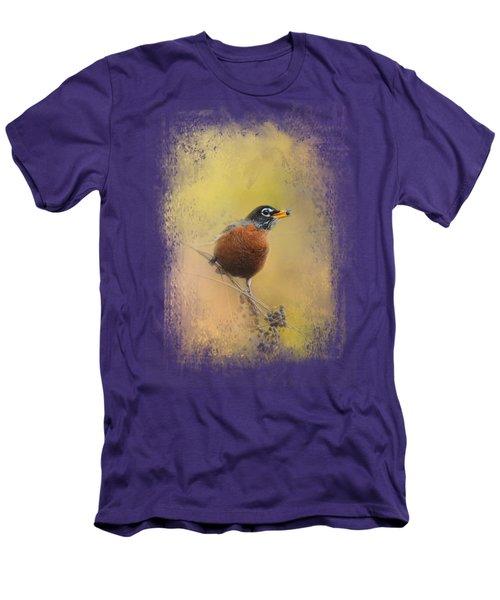Berries In The Woods Men's T-Shirt (Slim Fit) by Jai Johnson
