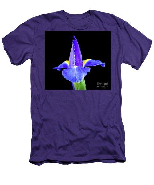 Blooming Iris 1318-1 Men's T-Shirt (Athletic Fit)
