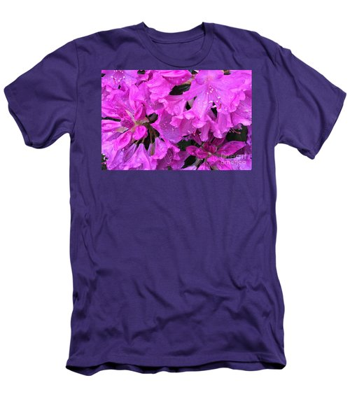Blooming Rhododendron Men's T-Shirt (Athletic Fit)