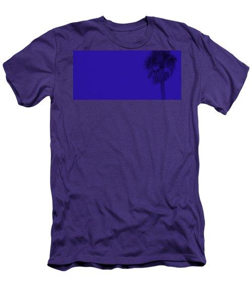 Blue Palm Men's T-Shirt (Athletic Fit)