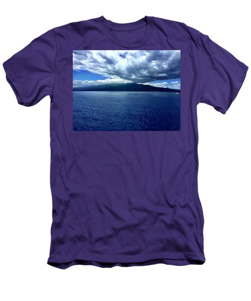 Boat View 2 Men's T-Shirt (Slim Fit) by Michael Albright