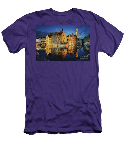 Brugge Men's T-Shirt (Slim Fit) by JR Photography