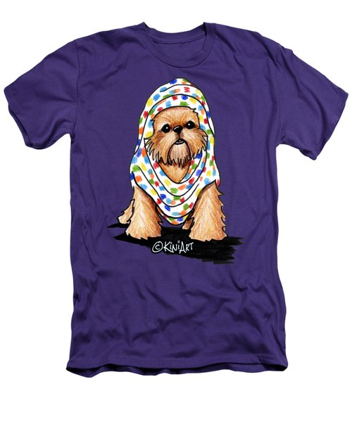 Brussels Griffon Beauty Men's T-Shirt (Slim Fit) by Kim Niles