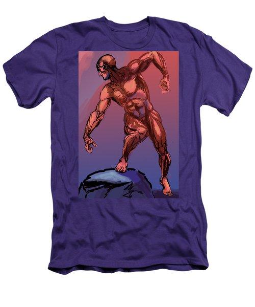 Burne Hogarth Anatomical Man Men's T-Shirt (Athletic Fit)