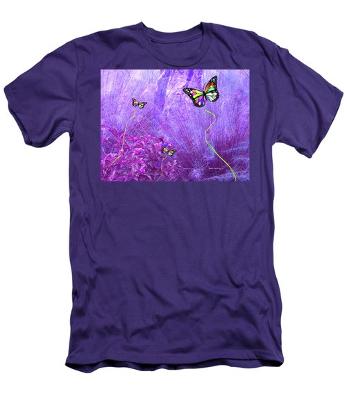 Butterfly Fantasy Men's T-Shirt (Athletic Fit)