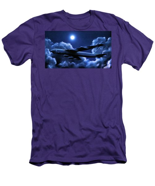 By The Light Of The Blue Moon Men's T-Shirt (Slim Fit) by Dave Luebbert