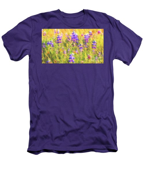 California Lupines Redux Men's T-Shirt (Athletic Fit)