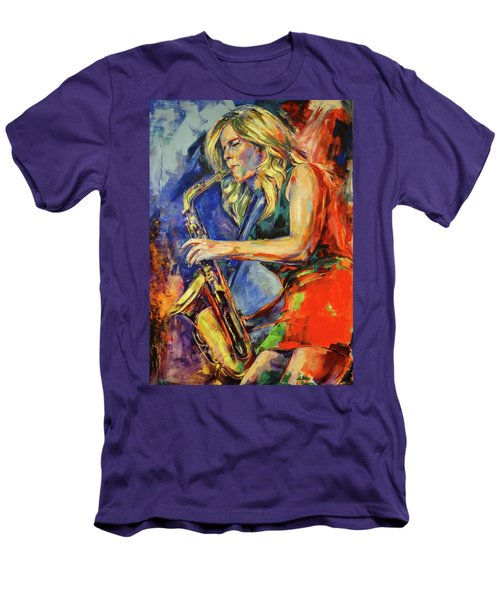 Candy Dulfer, Lily Was Here Men's T-Shirt (Athletic Fit)
