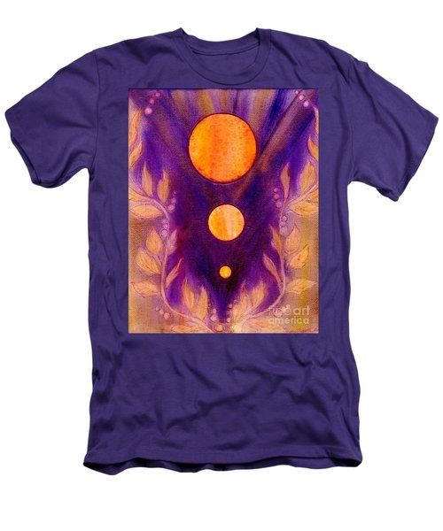 Captured Spirit Men's T-Shirt (Slim Fit) by Desiree Paquette