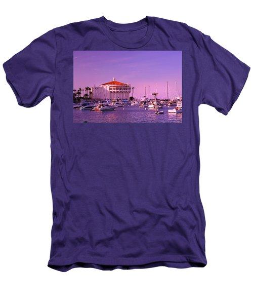 Catalina Casino Men's T-Shirt (Slim Fit) by Marie Hicks