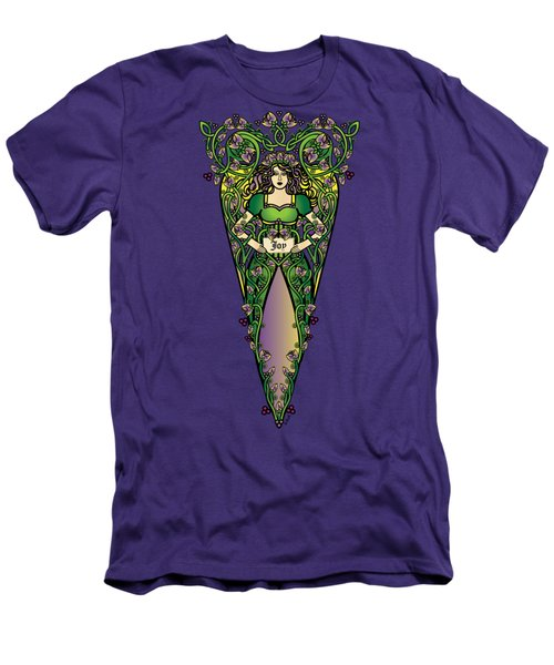 Celtic Forest Fairy - Joy Men's T-Shirt (Athletic Fit)