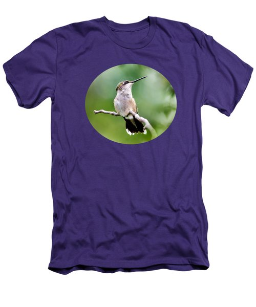 Charming Hummingbird Men's T-Shirt (Athletic Fit)
