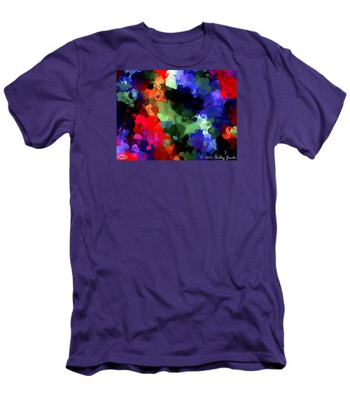 Men's T-Shirt (Slim Fit) featuring the painting Chasing Sleep by Holley Jacobs
