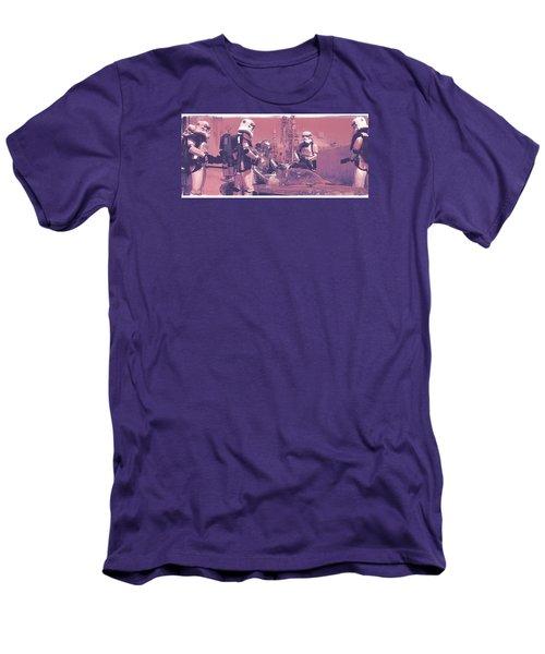 Checkpoint Men's T-Shirt (Slim Fit) by Kurt Ramschissel