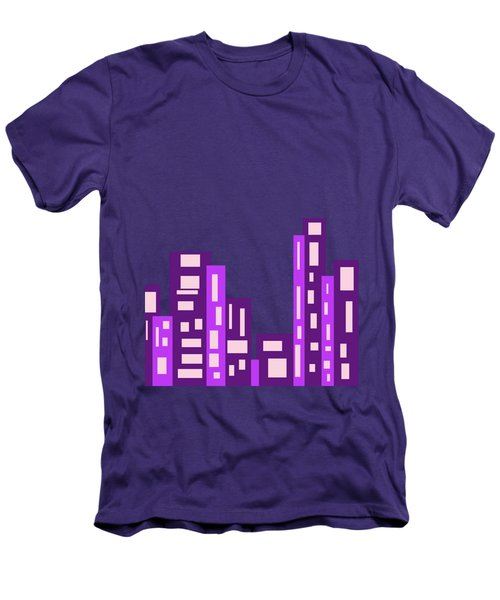 City Night Men's T-Shirt (Slim Fit) by Joy Watson