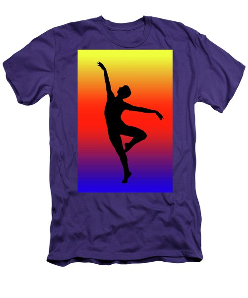Colors Dance Men's T-Shirt (Athletic Fit)