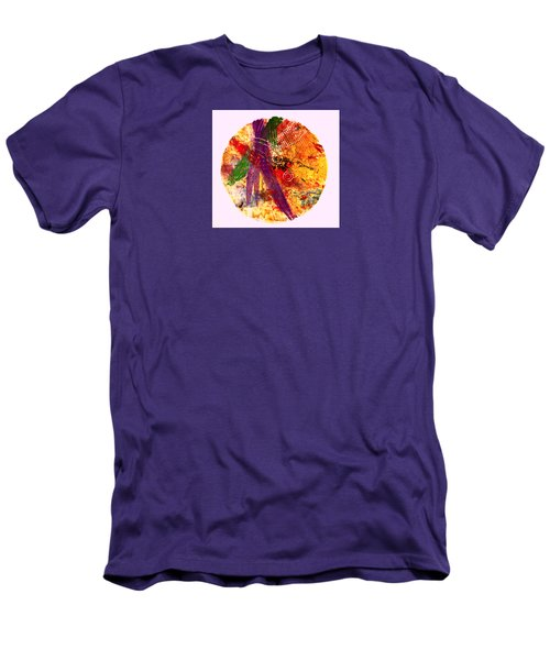 Men's T-Shirt (Slim Fit) featuring the painting Contained by William Renzulli