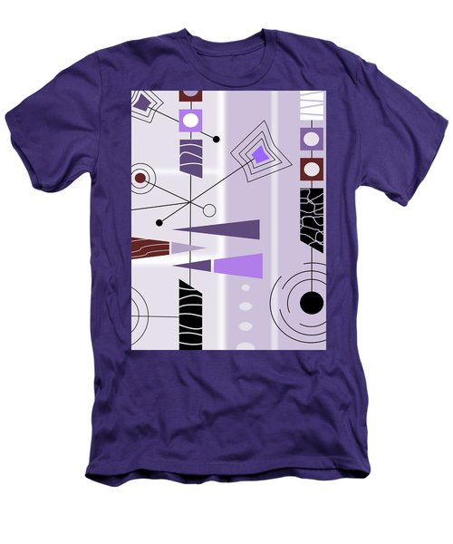 Cool New Purple Men's T-Shirt (Athletic Fit)