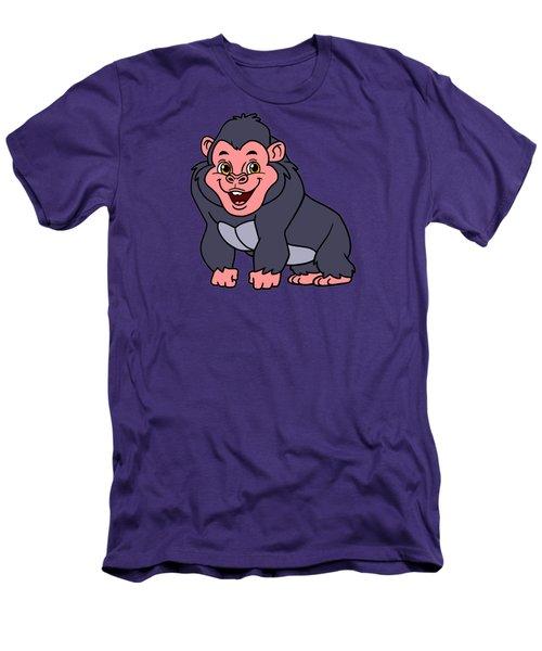 Cute Ape Men's T-Shirt (Athletic Fit)