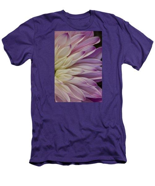 Dahlia Petals 2 Men's T-Shirt (Athletic Fit)