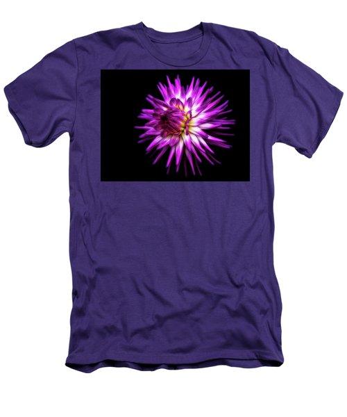 Dahlia Starburst Men's T-Shirt (Athletic Fit)