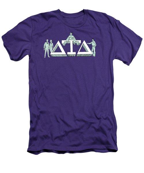 Delts Men's T-Shirt (Athletic Fit)