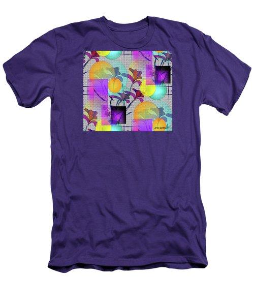 Design #3 Men's T-Shirt (Slim Fit) by Iris Gelbart