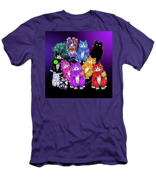 Dizzycats Men's T-Shirt (Slim Fit) by DC Langer