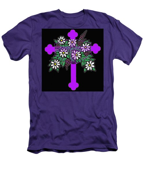 Eastern Ornate 1 Men's T-Shirt (Athletic Fit)