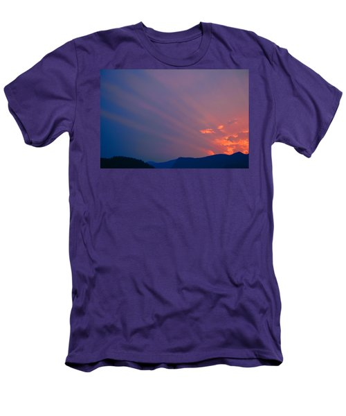 Eastern Sunrise Men's T-Shirt (Athletic Fit)