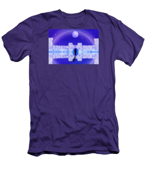 Men's T-Shirt (Slim Fit) featuring the digital art Emily's Journey Part II by Bernd Hau