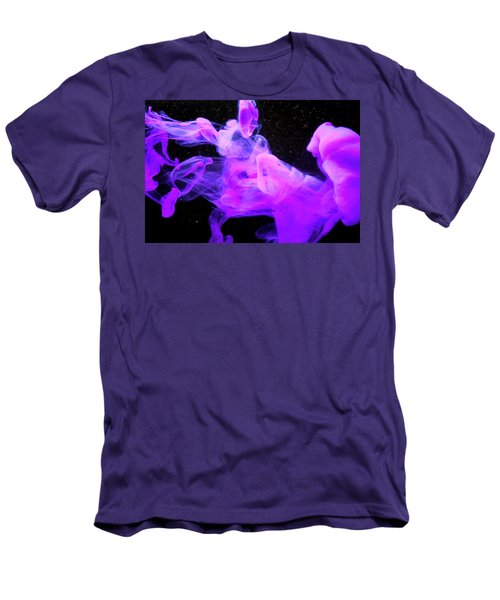 Emptiness In Harmony - Fine Art Photography - Paint Pouring Men's T-Shirt (Athletic Fit)