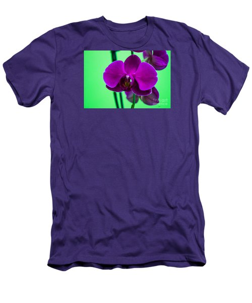 Exposed Orchid Men's T-Shirt (Athletic Fit)