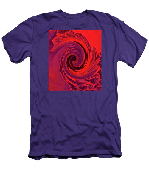 Eye Of The Honu - Red Men's T-Shirt (Slim Fit) by Kerri Ligatich