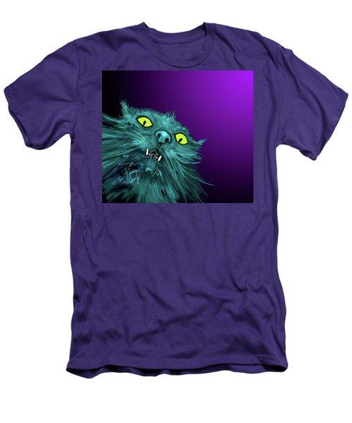 Fang Dizzycat Men's T-Shirt (Slim Fit) by DC Langer