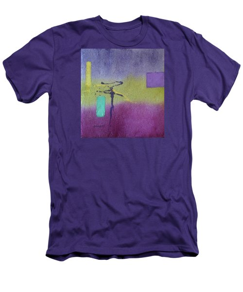 Finding Balance Men's T-Shirt (Slim Fit) by Becky Chappell