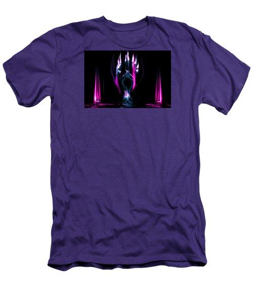 Flame Dance Men's T-Shirt (Slim Fit) by Glenn Feron