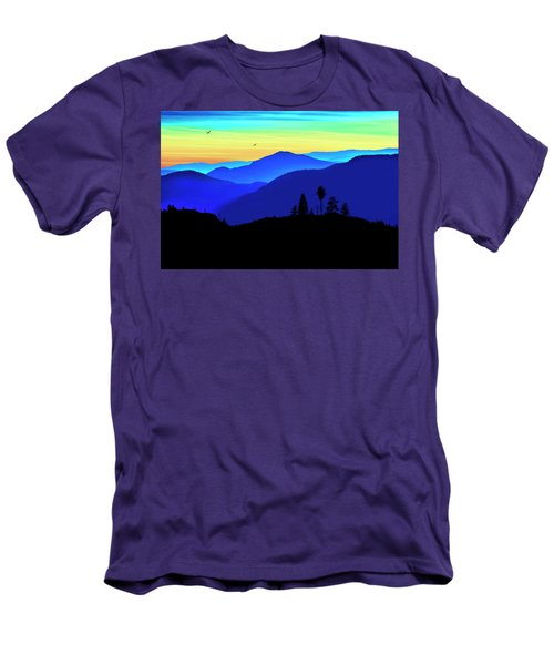 Men's T-Shirt (Athletic Fit) featuring the photograph Flight Of Fancy by John Poon