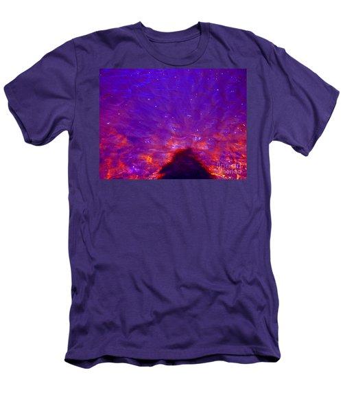 Flourescent Waters Men's T-Shirt (Athletic Fit)