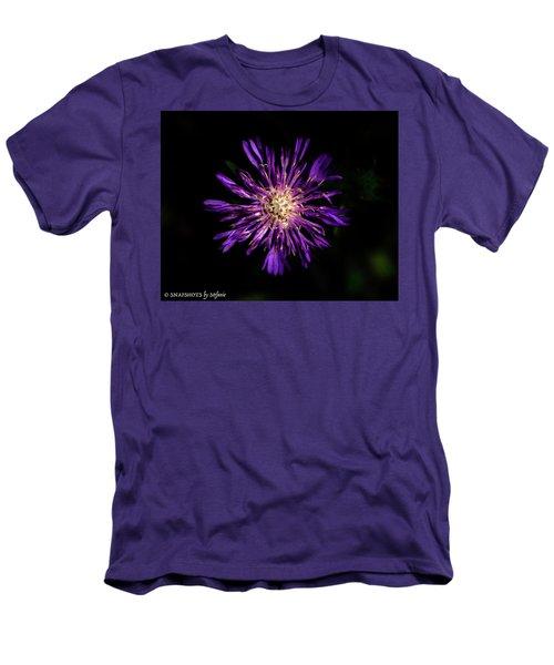 Flower Or Firework Men's T-Shirt (Slim Fit) by Stefanie Silva